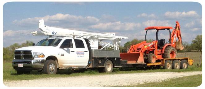 White River Pump Backhoe Service Arkansas